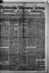 Norddeutsche allgemeine Zeitung (23.02.1880)