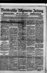 Norddeutsche allgemeine Zeitung (19.06.1880)