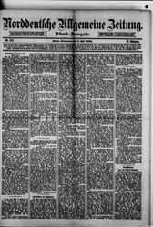 Norddeutsche allgemeine Zeitung (08.07.1880)