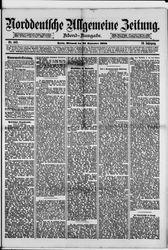 Norddeutsche allgemeine Zeitung (22.09.1880)