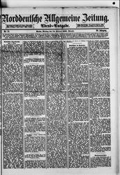 Norddeutsche allgemeine Zeitung (21.10.1881)