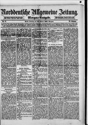 Norddeutsche allgemeine Zeitung (22.02.1881)