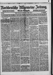 Norddeutsche allgemeine Zeitung (23.02.1881)