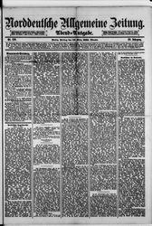 Norddeutsche allgemeine Zeitung (18.03.1881)