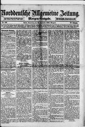 Norddeutsche allgemeine Zeitung (22.09.1881)