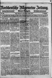 Norddeutsche allgemeine Zeitung (16.11.1881)