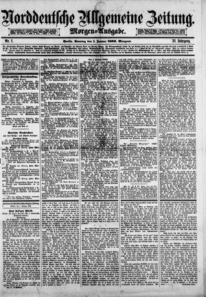 Norddeutsche allgemeine Zeitung vom 01.01.1882