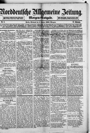 Norddeutsche allgemeine Zeitung vom 04.01.1882