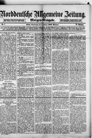 Norddeutsche allgemeine Zeitung vom 05.01.1882