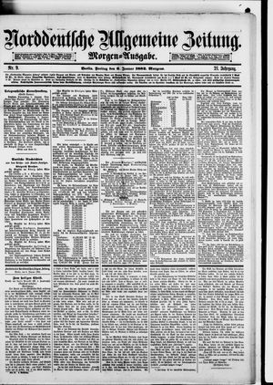 Norddeutsche allgemeine Zeitung vom 06.01.1882