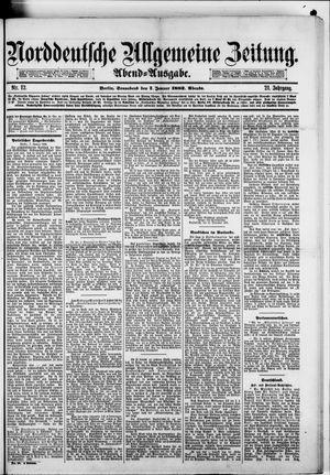 Norddeutsche allgemeine Zeitung on Jan 7, 1882