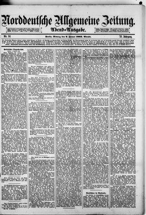 Norddeutsche allgemeine Zeitung vom 09.01.1882