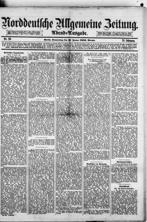 Norddeutsche allgemeine Zeitung vom 12.01.1882