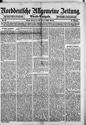 Norddeutsche allgemeine Zeitung vom 20.01.1882