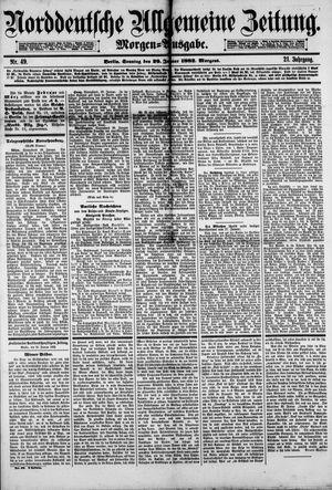 Norddeutsche allgemeine Zeitung on Jan 29, 1882