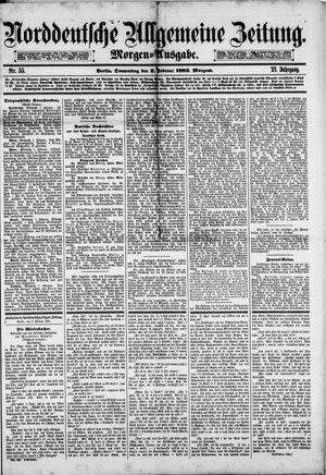 Norddeutsche allgemeine Zeitung vom 02.02.1882