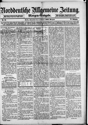 Norddeutsche allgemeine Zeitung vom 04.02.1882