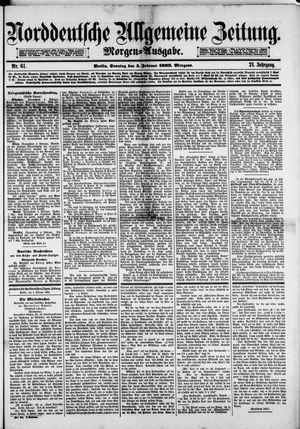 Norddeutsche allgemeine Zeitung on Feb 5, 1882