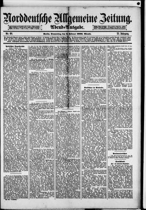 Norddeutsche allgemeine Zeitung vom 09.02.1882