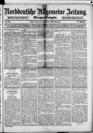 Norddeutsche allgemeine Zeitung vom 10.02.1882