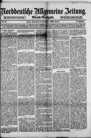Norddeutsche allgemeine Zeitung vom 16.02.1882