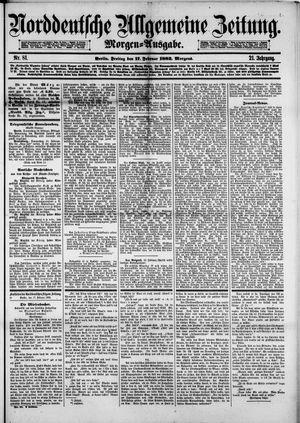 Norddeutsche allgemeine Zeitung vom 17.02.1882