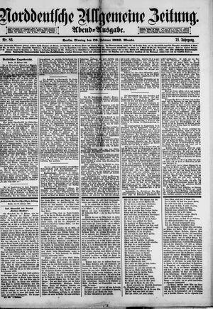Norddeutsche allgemeine Zeitung on Feb 20, 1882