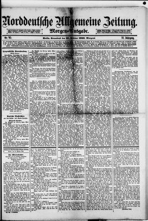 Norddeutsche allgemeine Zeitung vom 25.02.1882