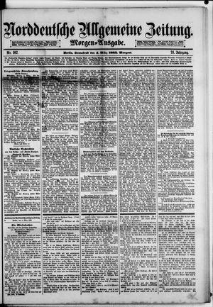 Norddeutsche allgemeine Zeitung vom 04.03.1882