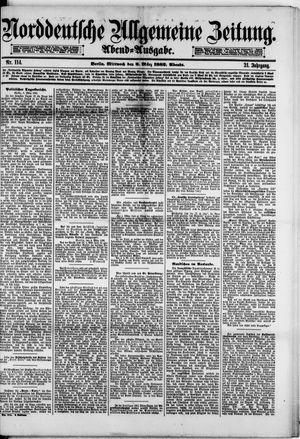 Norddeutsche allgemeine Zeitung vom 08.03.1882