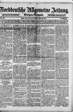 Norddeutsche allgemeine Zeitung vom 09.03.1882