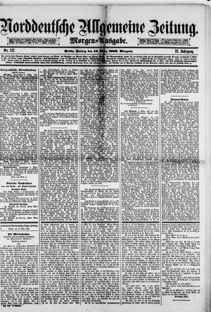 Norddeutsche allgemeine Zeitung vom 10.03.1882