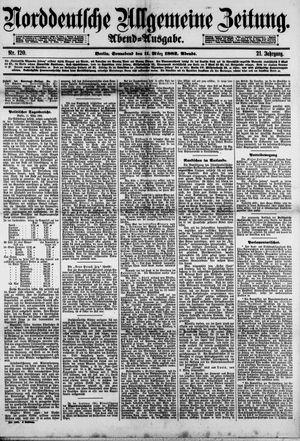 Norddeutsche allgemeine Zeitung vom 11.03.1882