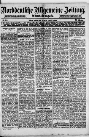 Norddeutsche allgemeine Zeitung vom 13.03.1882