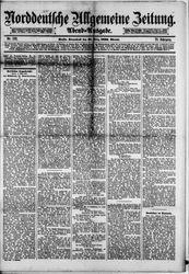 Norddeutsche allgemeine Zeitung (18.03.1882)