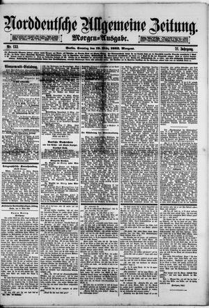 Norddeutsche allgemeine Zeitung vom 19.03.1882