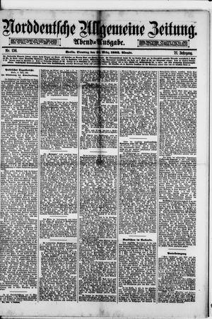 Norddeutsche allgemeine Zeitung on Mar 21, 1882