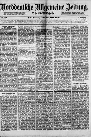 Norddeutsche allgemeine Zeitung vom 23.03.1882