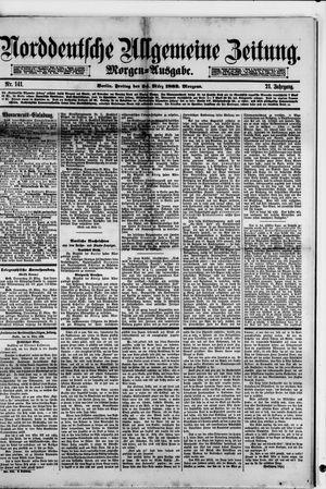 Norddeutsche allgemeine Zeitung vom 24.03.1882