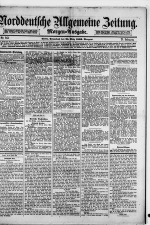 Norddeutsche allgemeine Zeitung vom 25.03.1882