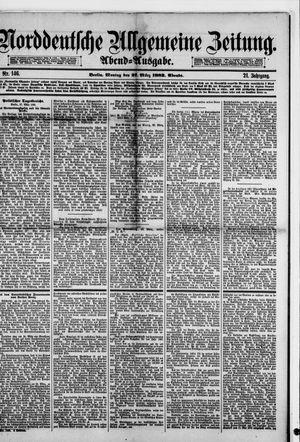 Norddeutsche allgemeine Zeitung vom 27.03.1882