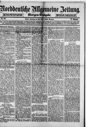 Norddeutsche allgemeine Zeitung vom 28.03.1882