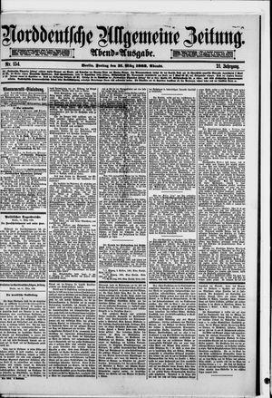 Norddeutsche allgemeine Zeitung vom 31.03.1882