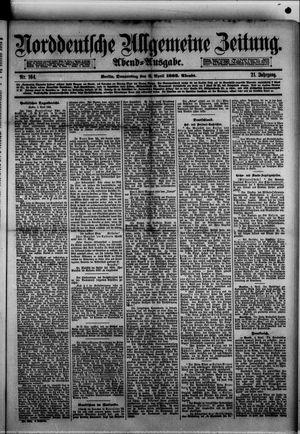 Norddeutsche allgemeine Zeitung vom 06.04.1882