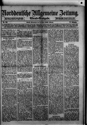 Norddeutsche allgemeine Zeitung vom 08.04.1882