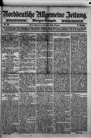 Norddeutsche allgemeine Zeitung vom 12.04.1882