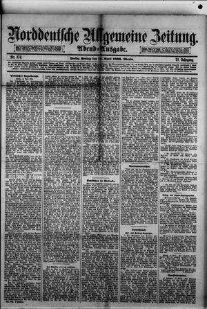 Norddeutsche allgemeine Zeitung vom 14.04.1882