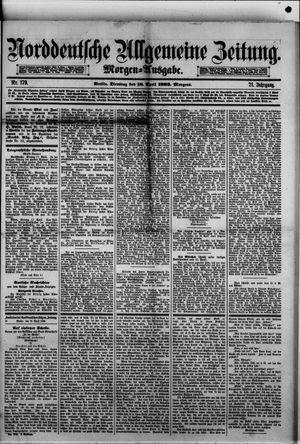 Norddeutsche allgemeine Zeitung vom 18.04.1882