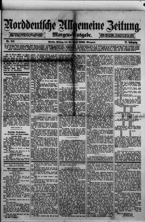 Norddeutsche allgemeine Zeitung vom 21.04.1882