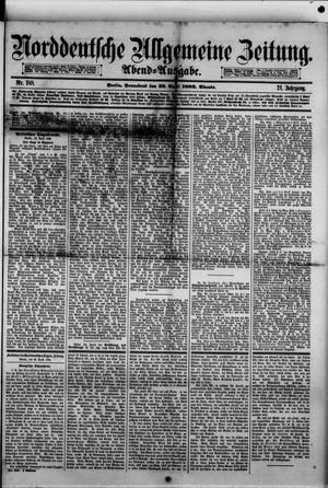 Norddeutsche allgemeine Zeitung vom 22.04.1882